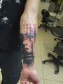 abstraktne Motiv  Tätowierung  - Tattoo