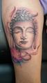 budha a lotos  Tetování - kérky - Tattoo