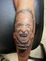Bukowski Charles Tetování - kérky - Tattoo