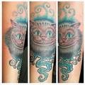 barevný kocour  Tetování - kérky - Tattoo